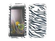 HTC 6410 Fireball Droid Incredible 4G LTE Zebra Protective Case