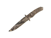 Camouflage Handle & Blade, Plain, w/Sheath
