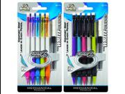 GripZ Mechanical Pencil w/ Lead Refill Set 5 Pk*6