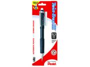 Pentel QE515BPK6 Twist-Erase III Mechanical Pencil #2, HB Pencil Grade - 0.7 mm Lead Size - Assorted Barrel - 1 / Pack