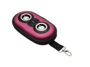 ILUV ISP110PNK PORTABLE AMPLIFIED STEREO SPEAKER CASE (PINK)