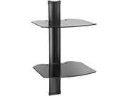 Tria 2-Shelf Wall Mount - Black