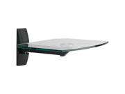 OMNIMOUNT ECS B ECSB Glass Wall Shelf