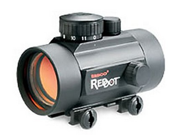 Tasco Red Dot Riflescope 1x42 Black Matte Illuminated 5 MOA Red Dot, BKRD42RGD
