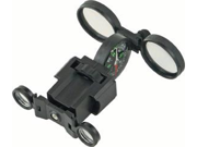 Compass w/ Glasses & Magnify Glass Black