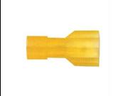 Metra YNFD250F Yellow Female Quick Disconnect 12/10 guage .250 - 100 Pkg
