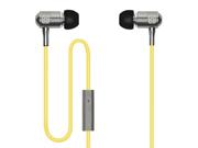 Incipio f08 Yellow Hi-Fi Stereo Earbuds NX-112