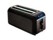 Digital 4 Slice Toaster Black