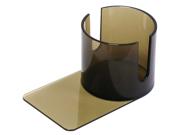 Plastic Cup Holder - Smoke (Slide under) w/Cutouts
