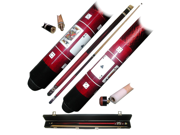 Red Royal Flush Poker Pool Stick