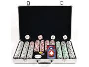 650 11.5g 4 Aces Poker Chip Set w/Executive Aluminum Case