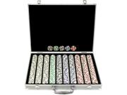 1000 11.5g 4 Aces Poker Chip Set w/Aluminum Case