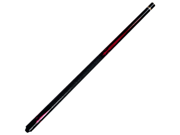 Ruby Red Designer 2 Piece Pool Cue with Case by TGT