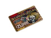 Nevada Jacks $25000 Plaque