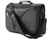 CODi C2500 Nylon Courier Messenger Bag - Black