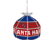 Atlanta Hawks NBA 16 inch Tiffany Style Lamp