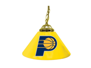 Indiana Pacers NBA Single Shade Bar Lamp - 14 inch