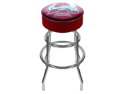 NHL Colorado Avalanche Padded Bar Stool