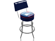 NHL New York Rangers Padded Bar Stool with Back