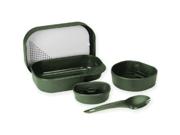 Wildo Camp-A-Box w/ Spork Olive