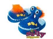 Silly Slippeez - Mr. Monster - Glow in the Dark - XL