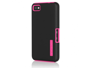 Incipio BlackBerry Z10 Dual PRO Case - Black / Pink-BB-1014