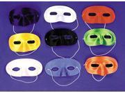 Half Mask Satin White