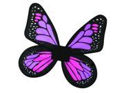 Wings Butterfly Satin Ch Pink/