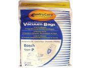 "Bosch Type ""P"" Canister Vacuum Bags Generic"
