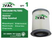 ZVac Hoover HEPA Filter For Elite Rewind 59157055
