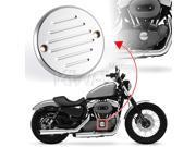 billet chrome aluminum point cover KiWAV 2 holes (11E) for Harley Davidson Big Twin 70-99