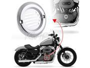 KiWAV billet chrome aluminum point cover 2 holes (11C) for Harley Davidson Big Twin 70-99 ventilation