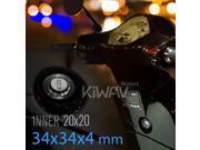 VAWiK CNC Anodizing Aluminum Alloy 6061 steering lock trim black for Vespa LX S ET4 GTS GTV