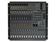 Mackie PPM1012 12ch 1600W Powered Desktop Mixer Powered PA Mixer