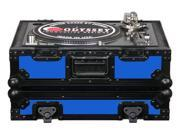 Odyssey FR1200BKBLUE Designer Turntable Case-Blu Single Turntable Case