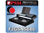Odyssey FZGSNS6BL - Flight Ready Case for Numark NS6