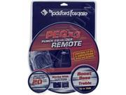 Rockford Fosgate PEQX3 Remote PEQ Controls Up to 3 Amplifiers