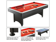 Maverick 7 Foot Pool Table With Table Tennis By Carmelli