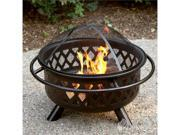 Uniflame Aged Lattice Fire Pit
