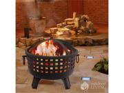 Landmann 26364 Savannah Black On Black Fire Pit