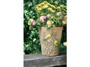 Burley Clay Goldfinch Planter 10 Inch