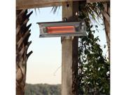 Fire Sense Stainless Steel Wall Mounted Infrared Patio Heater