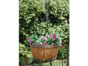 Griffith Creek Victorian Hanging Planter 14 Inch  Hammered Bronze