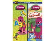 Barney (Barney Now I Know My ABCs/Barney Let's Play School) (Double Feature) DVD New