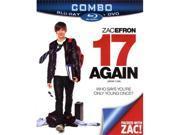 17 Again (DVD+Blu-ray Combo) (Blu-ray) Blu-Ray New