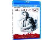 All Good Things (Blu-ray + DVD) (Blu-ray) Blu-Ray New