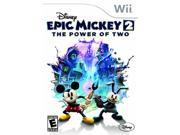Disney Epic Mickey 2 - The Power of Two Nintendo WII New