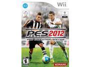 Pro Evolution Soccer 2012 Nintendo WII New