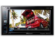 "6.2"" Double-DIN DVD Receiver with Bluetooth®, Siri® Eyes Free, SiriusXM® Ready, HD Radio®, Android™ Music Support, Pandora® Internet Radio & Dual Camera Inputs"