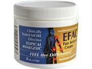 EFAC Pain Relieving Cream, 4 oz.